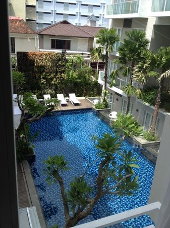 Grand Ixora Kuta Resort: view from my room