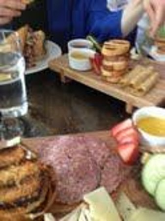 Sante Restaurant & Charcuterie: charcuterie board and cheese board