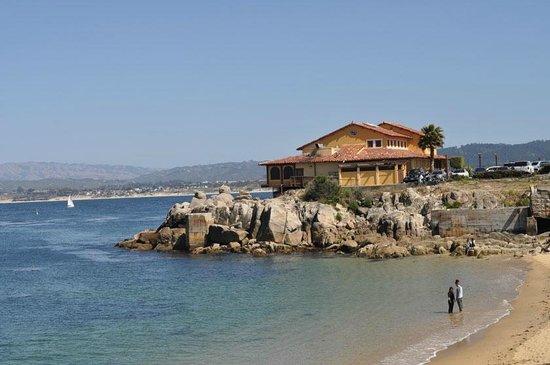 Paradiso Trattoria : La vista panoramica sulla spiaggia.