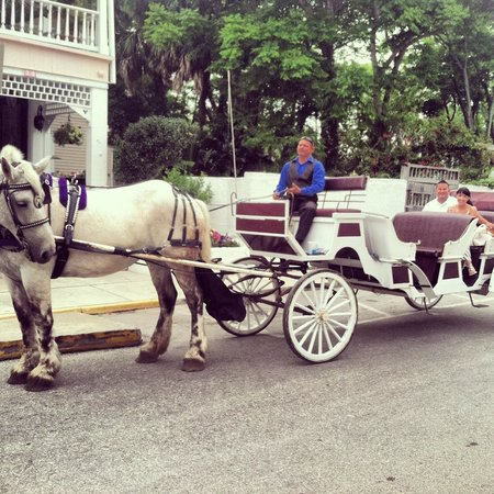 ‪ذا كينوود إن: Horse and carriage ride from Kenwood Inn‬