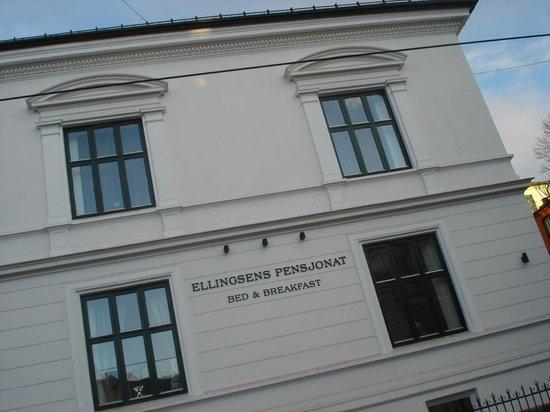 Ellingsens Pensjonat : facade