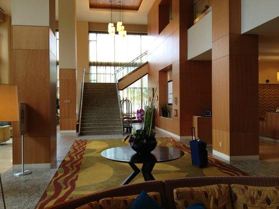 Gray's At The Park: lobby of Hilton