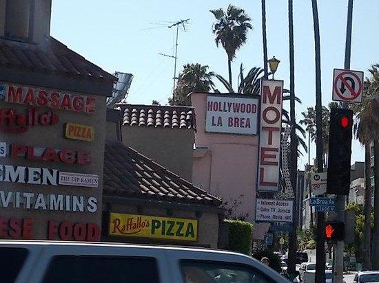 Fachada Picture Of Hollywood La Brea Motel Los Angeles