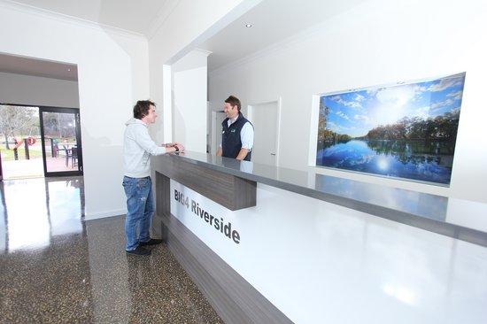 BIG4 Riverside Swan Hill: Reception