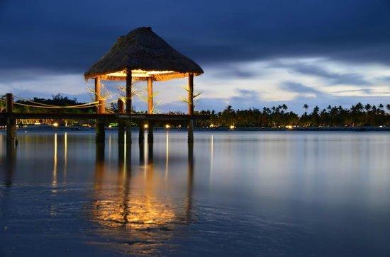 Musket Cove Island Resort: waterfront