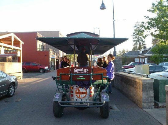 Cycle Pub: A fun way to tour Bend and local breweries