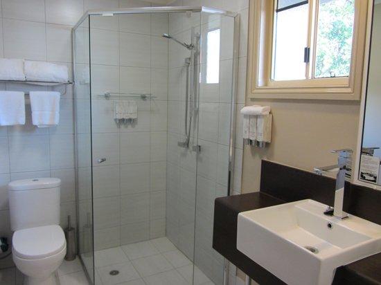 BEST WESTERN PLUS Ambassador on Ruthven Motor Inn: Modern bathroom