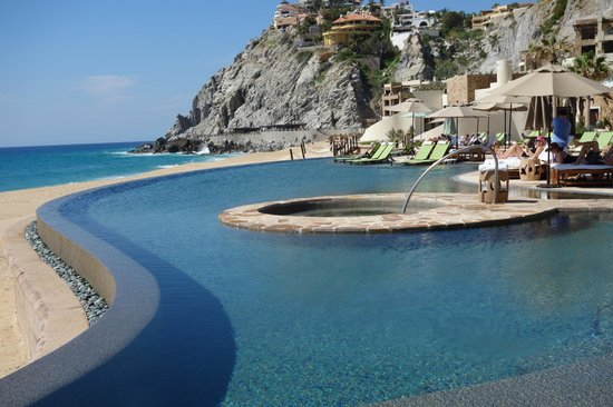Pool picture of the resort at pedregal cabo san lucas for Pedregal cabo san lucas