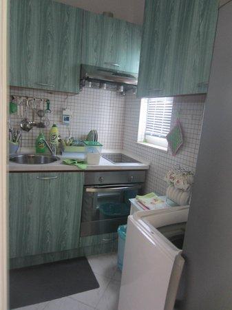 Apartments Priska: the kitchen
