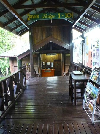 Tabin Wildlife Resort: Reception/Lobby