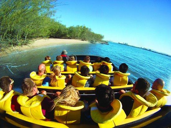 Paradise Jet Boating: Fisheye