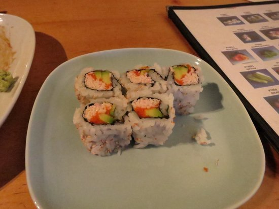 Sushi Bistro: California roll