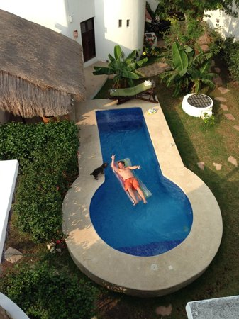 Tamarindo Bed and Breakfast: the pool at Tamarindo Apartments, Cozumel