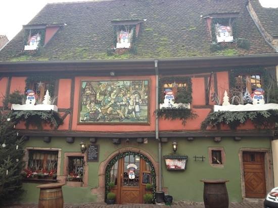 Le Medieval: beau décor en Alsace