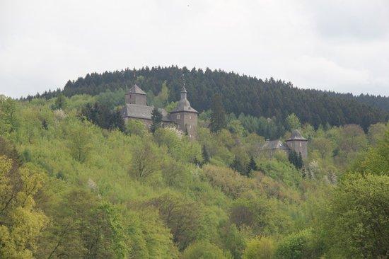 Burghotel Schnellenberg: ligging