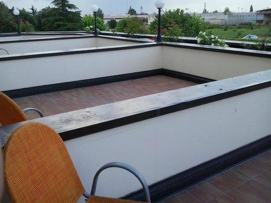 Hotel il Maglio : terrazze private delle Camere Comfort