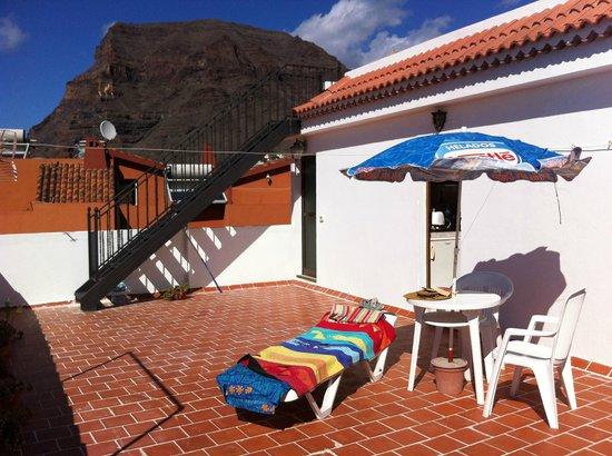 Omayra Hotel : Terrasse des Atico