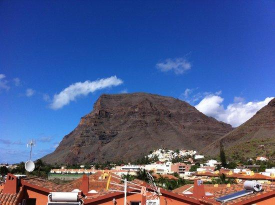 Omayra Hotel : Blick von Terrasse