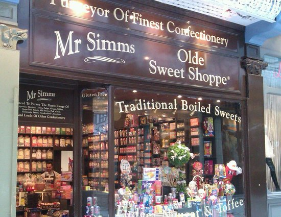 Mr Simms Old Sweet Shoppe Leeds