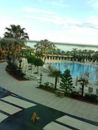 Saphir Resort & Spa: View from the outside eating area