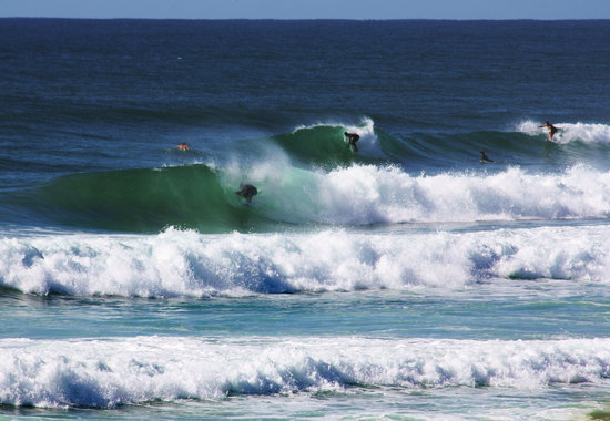 Flat Rock Tent Park: central to many great surf locations