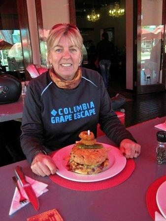 Bourbon Street: moerse burger!!!!!