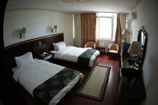 Yeti hotel Gyantse : Room at the Yeti