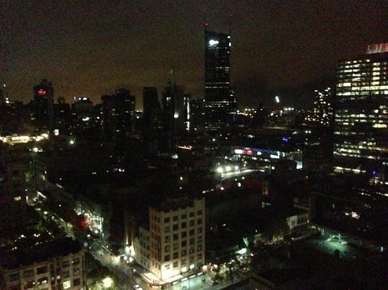 Citadines on Bourke Melbourne: view from floor 22