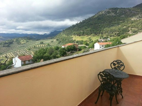 Hotel El Curro: Vista de la terraza de la habitación