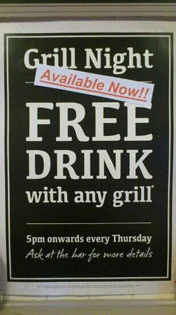 The Old Crown: Available every Thursday.