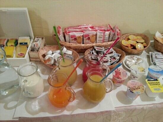 B&B La Chimera: buffet ricco sia di dolce che di salato