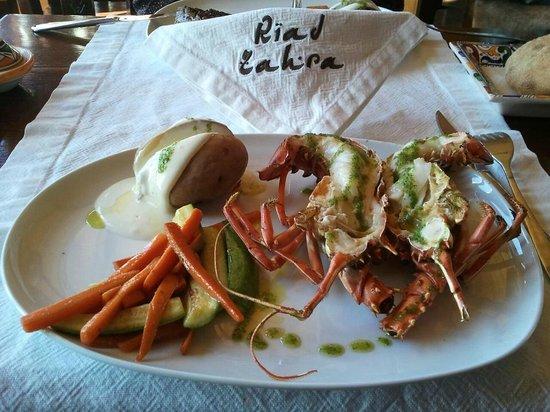 Zahra's Grill: Spiny Lobster