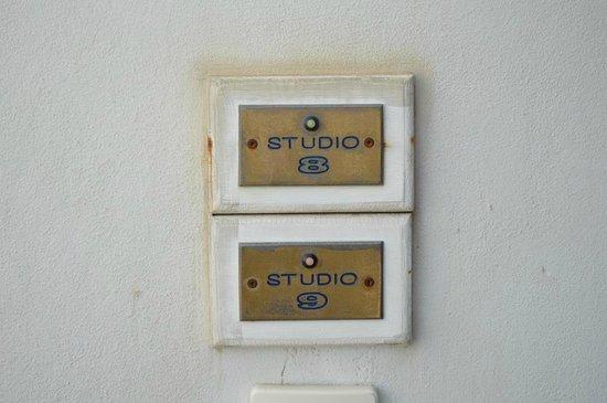 Vincenzo Family Hotel: Entrance to studios 8 & 9