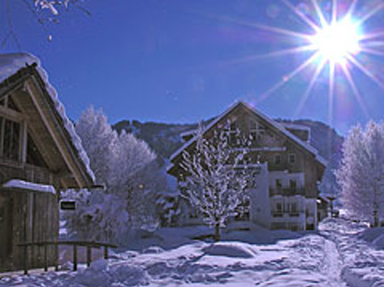 Seehaus Winkler: Auch im Winter ist der Weissensee einen Besuch wert.