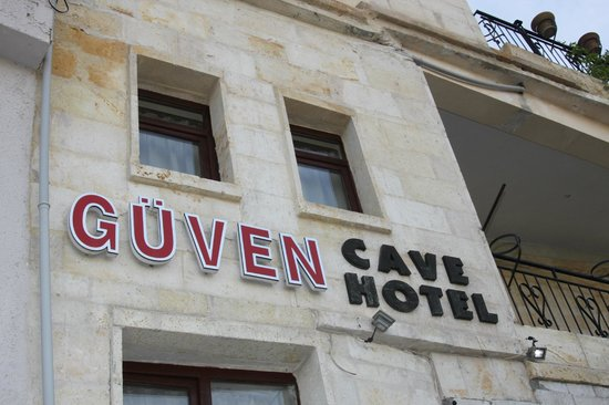 Guven Cave Hotel: Entrance to the Hotel