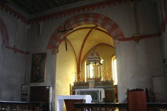 Chiesa di San Lorenzo in Monlue: i