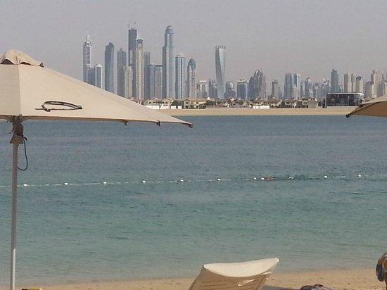 Atlantis, The Palm: la spiaggia interna palm