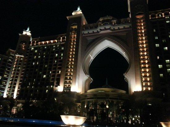Atlantis, The Palm: architettura ...................