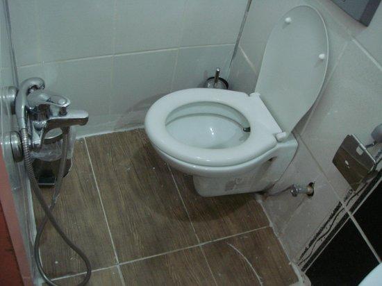 Hotel Rose Bouquets: Общая ванная комната