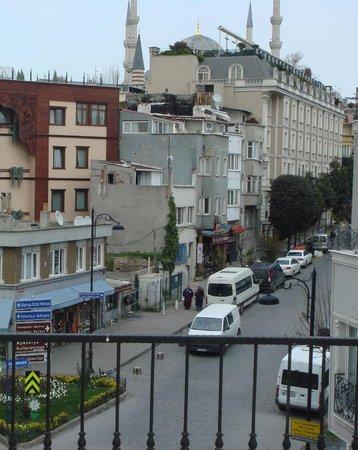 Hotel Rose Bouquets : Вид с крыши