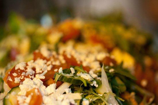 Salut Mediterranean Food: Salads with parmesan