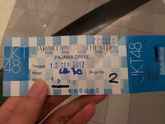 JKT48 Theater Ticket