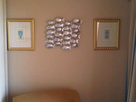 Paternoster Dunes Boutique Guest House: Fishes Artwork