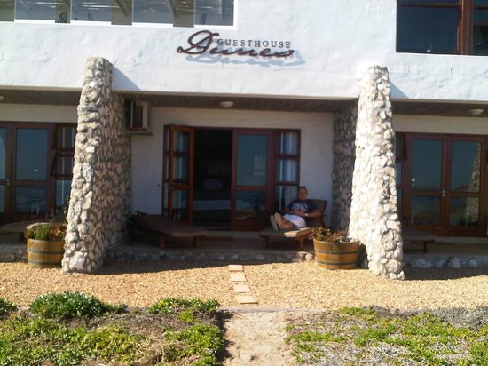 Paternoster Dunes Boutique Guest House: Patio from the beach