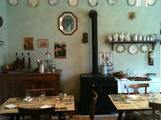 Chez Hortense : en 1900...