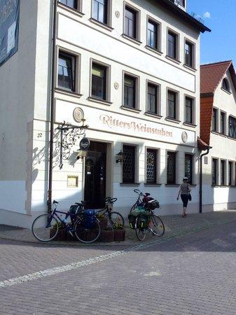 Ritters Weinstuben: Hotelansicht