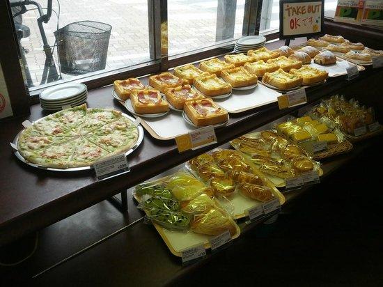 Pronto Ueno Shinobazuguchi: Variedad de desayuno