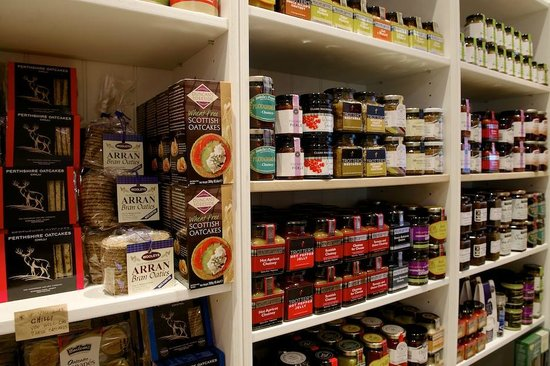 Cranachan & Crowdie: We have 22 kinds of oatcakes and many more chutneys.