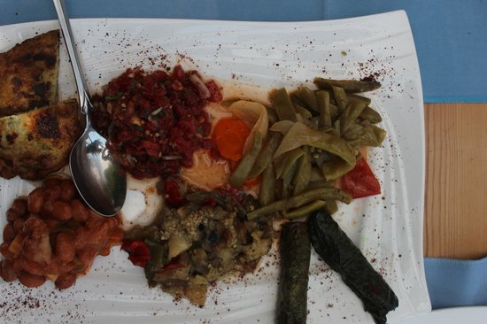 Sultan Garden Restaurant : fantastic mezes