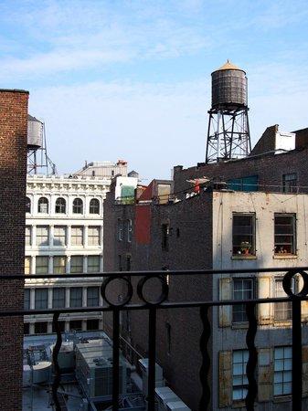 The Mercer Hotel: Views of Soho